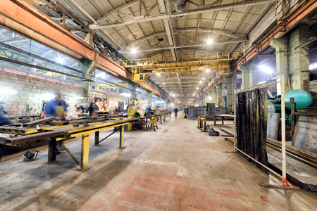 usine de métal