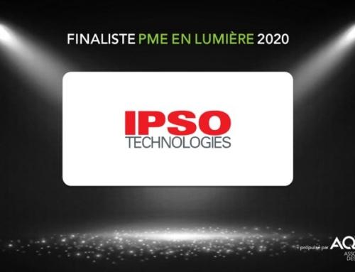 Finaliste au concours de l'AQT pour la « PME techno de l'année »!